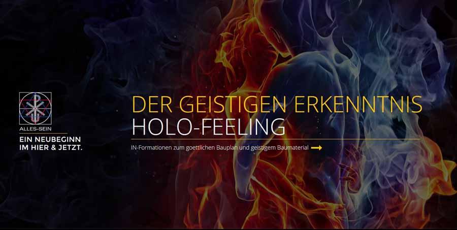 Hans Hubert Küppers - Hinweis HOLOFEELING